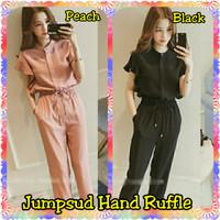 FashionOS - Baju Wanita Pesta 17659 Jumpsuit Twiscone Hand Ruffle