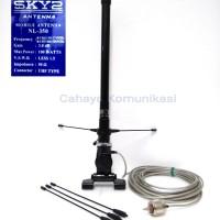Antena radio komunikasi HT mobil 2 band VHF UHF Sky 2 NL-350
