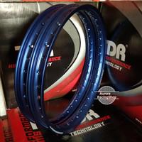 Velg TDR W Shape Set Ring 17 x 140 / 140 warna Biru