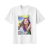 Kaos Baju Tshirt Korea Kpop BlackPink Jisoo Putih