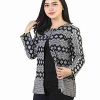 Blezer Wanita Batik/Atasan Batik/Monocrome