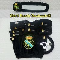 Bantal Mobil 9 in 1 Bordir REAL MADRID FC