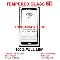Huawei Honor 9 Lite full screen anti gores 3D 4D TG TEMPERED GLASS 5D