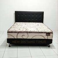 Spring Bed Romance Harmonis E Pillow Top 120x200 HB Montana Full Set