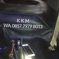 Karpet Dasar Mobil Datsun Go 2 Baris Cream Hitam Abu