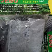 Aquarium aquascape filter refill catridge jebo 501