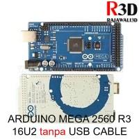 Arduino Mega 2560 R3 16u2 Ori Grade Clone White Logo tanpa USB Cable