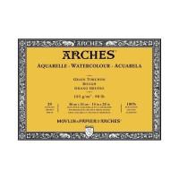 ARCHES Rough 185gsm 36x51cm Watercolour Paper Block - Histore