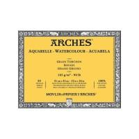 ARCHES Rough 185gsm 31x41cm Watercolour Paper Block - Histore