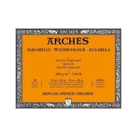 ARCHES Rough 300gsm 31x41cm Watercolour Paper Block - Histore