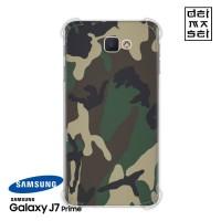 Army Camo Camouflage Casing Samsung Galaxy J7 Prime Anti Crack Case HP