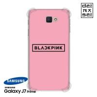 BLACKPINK Casing Samsung Galaxy J7 Prime Anti Crack Anticrack Case