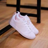 Sepatu Adidas Neo Advantage White CLean Soft Pink Original