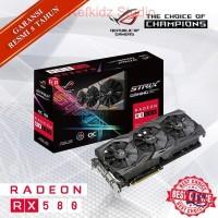 VGA ASUS ATI Radeon ROG RX 580 8GB STRIX OC GDDR5