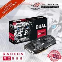 VGA ASUS ATI Radeon ROG RX 580 8GB DUAL OC DDR5