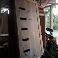 pintu kamar minimalis kayu mahoni