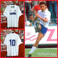 Jersey Fiorentina Away 1988/1989 #10 BAGGIO