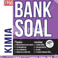 Buku 1700 Plus Bank Soal Kimia untuk SMA Kurikulum 2013 Revisi
