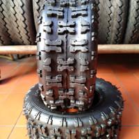 BAN ATV ring 6 ukuran 13 X 5.00-6 tapak untuk off-road
