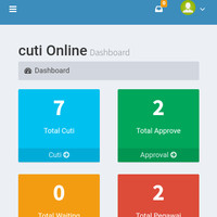 Software Aplikasi Cuti Online Berbasis Web dan Mobile Resposive