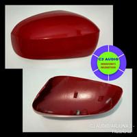Cover spion honda brio satya merah original