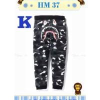 HM 37 K Celana Pendek Anak Bape Army Black(Med Size) Celana Anak Keren