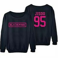 Longsleve BLACK PINK / Kaos lengan panjang JISOO 95 Baju k-pop korea