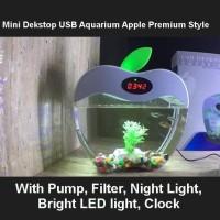 Desktop Aquarium Akuarium Mini USB Fish Tank USB 2015-A Apple Style