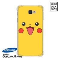 Pokemon Pikachu Casing Samsung Galaxy J7 Prime Anti Crack Case HP