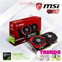 VGA MSI Geforce GTX 1050 Ti 4GB Gaming X - GTX 1050 Ti 4 GB DDR5