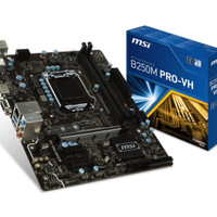 MSI B250M-Pro VH (LGA1151, B250, DDR4) (By WPG)