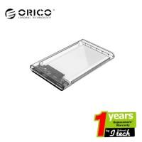 ORICO Case External Hardisk 2.5 SATA Enclosure 2139U3 Transparent