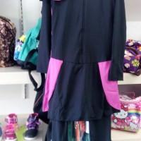 Baju renang muslim Dewasa SPEEDO polos M L XL