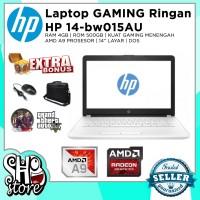 Laptop HP 14 bw015au AMD A9 HDD 500GB RAM 4GB Radeon R5 Gaming Editing