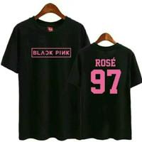 Kaos Blackpink Rose 97 / Baju Kpop Korea BLACK PINK