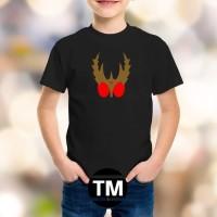 Tshirt Baju Kaos Anak Satria Baja Hitam - TM
