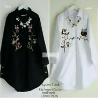 busana muslim/baju wanita/gamis muslimah/blouse/balqis tunik/atasan