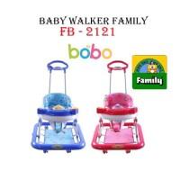 GOSEND Baby Walker Family FB 2121 Car Stir Ayun Music Alat Bantu Jalan