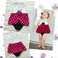 Baju Renang Bayi Anak One Piece Bug - Swimsuit Baby Ladybug