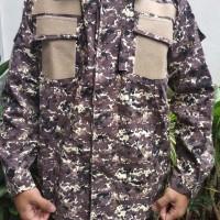 Baju seragam PDL Pramuka Loreng baru