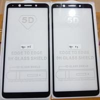 TEMPERED GLASS FULL LEM 5D OPPO F5 OPPO F5 YOUTH / BLACK