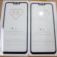 TEMPERED GLASS FULL LEM 5D FOR OPPO F7 2018 BLACK