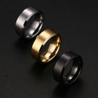 Cincin pria ring polos brand titanium stainless steel