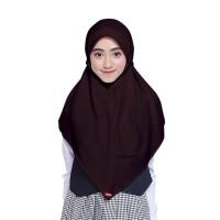 Kerudung Anak / Kerudung Sekolah ZOYA / Bergo / Hijab Instan L Murah