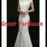 Murah Wedding Dress U002F Baju Akad Nikah U002F Long Dress Putih