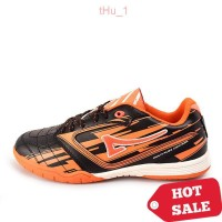 Ardiles Men Lozano FL Sepatu Futsal Black/Oranye