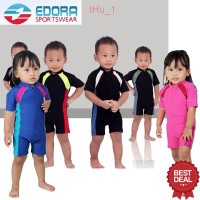 Baju Renang Anak Bayi Laki-laki dan Perempuan Balita Edora DV BB P