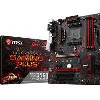 MSI B350 Gaming Plus (AM4, AMD Promontory B350, DDR4, USB3.1, SATA3)