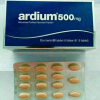 Ardium 500 // obat ambeien,wasir,varises    harga Promo!!!