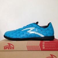 Sepatu Futsal Specs Quark IN Cocktail Blue Black 400776 Original BNIB
